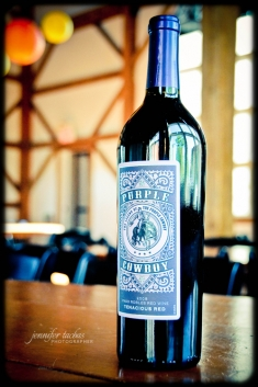 Purple Cowboy Wine { Jennifer Tacbas - Chicago / Grayslake, IL Wedding Photographer }