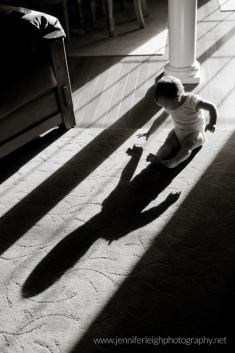 First Year - How to Capture Baby Shadows by Jennifer Tacbas of Jennifer Leigh Photography