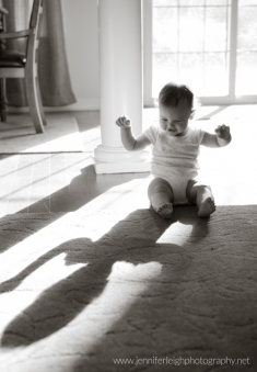 First Year - A Crawling Baby Changes Everything! by Jennifer Tacbas of Jennifer Leigh Photography