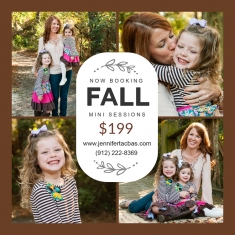 Now Booking: Fall Mini Sessions - 2016 Jennifer Tacbas | www.jennifertacbas.com