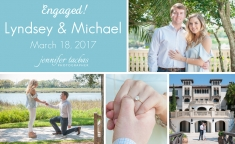 Lyndsey & Michael got engaged on Sea Island at The Cloister - Sea Island Resorts | Jennifer Tacbas - Sea Island proposal photographer & Sea Island engagement photographer - also serving Saint Simons proposals, Jekyll Island proposals, Brunswick, Waverly, the Golden Isles, Savannah